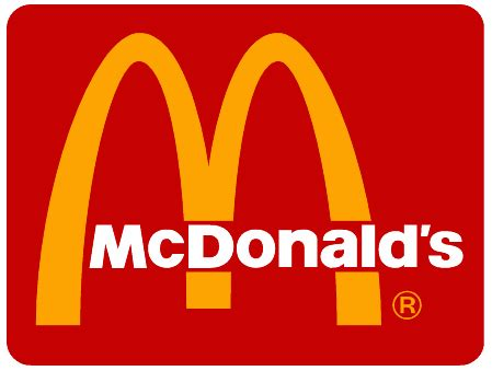 evolution of fast food logos top 10 burger chains