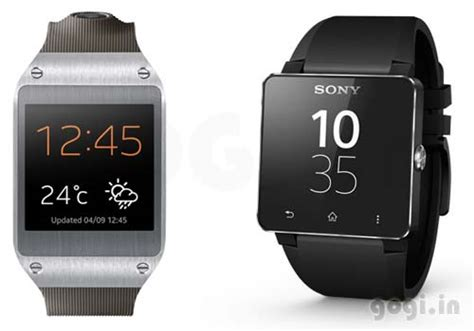 Sony Android Smartwatch 2 sony smartwatch 2 and samsung galaxy gear a comparison