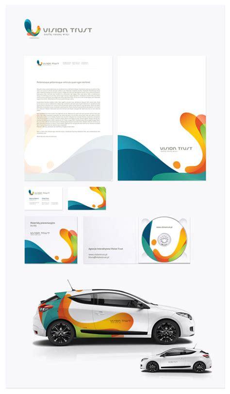 corporate identity design inspiration vision trust letterhead and logo design inspiration