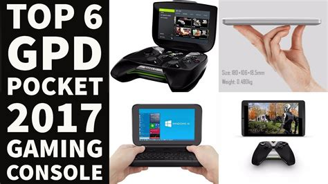 7 Best Held Gaming Devices by Top 6 Gpd Pocket 2017 Win Gaming Portable Devices