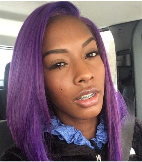 ovation for african american hair 176 best images about purple hairstyles on pinterest