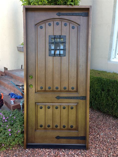 Rustic Fiberglass Exterior Doors Entry Doors Illumination Window Door Company