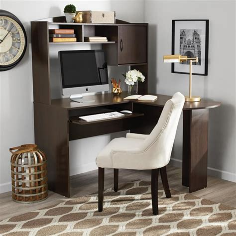 Mainstays L Shaped Desk With Hutch Finishes by Mainstays L Shaped Desk With Hutch Colors