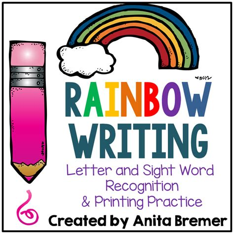 Rainbow Essay In by Mrs Bremer S Class Rainbow Writing And More Literacy Activities 2