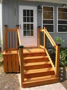 Back Stairs Design Front Steps And Landing Handyman Club Of America Handyman Forums Diy Message Board Home