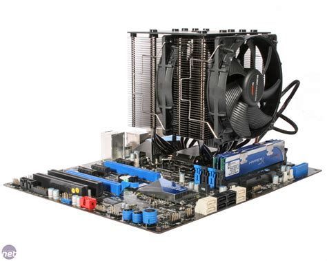 Cooler Cpu Fan Bequet Rock Pro3 Dual Fan big air cooler isnt it straining on the cpu motherboard