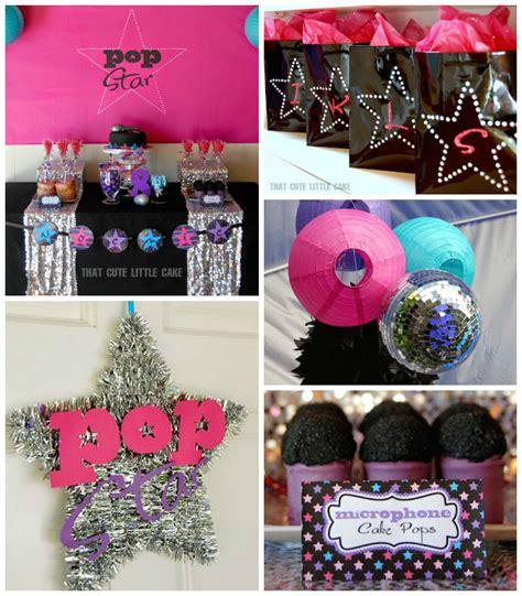 pop themen kara s ideas pop themed birthday