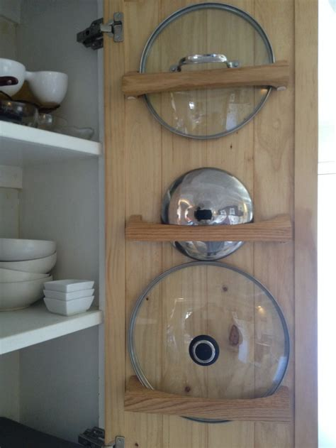 cabinet door lid rack a kitchen organizing challenge pot lids core77