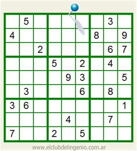imagenes sudoku para imprimir sudoku interactivo on line de dif 237 cil resoluci 243 n el club
