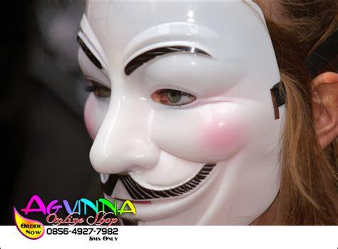 Topeng Anonymous Berkualitas beli produk di agvinna shop dijamin