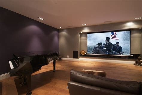 projector in bedroom q smartdesign cinema audio lighting security