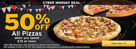 domino pizza friday offer cyber monday 2016 deal get 50 off domino s pizza pizza