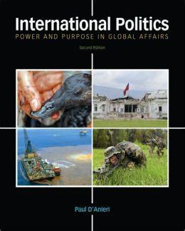 international politics power and purpose in global