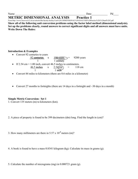 unit conversions and factor label method worksheet answers metric conversion practice adding and subtracting fractions with common denominators worksheet 0
