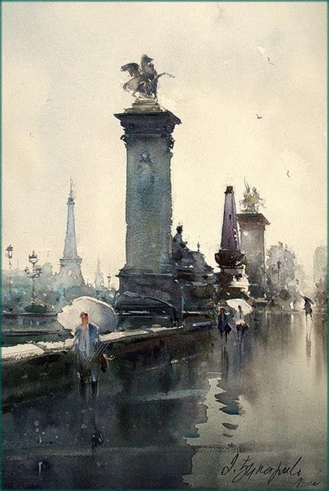 rainy days das de 0856686352 dusan djukaric rainy day in paris watercolor dusan djukaric watercolor
