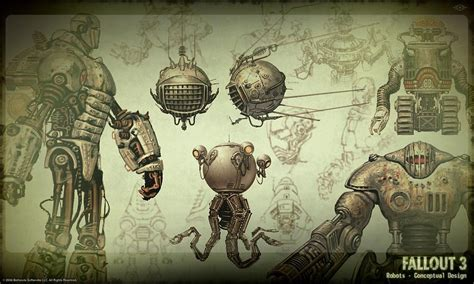 games blog what is concept art fallout 3