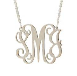 intial necklace be monogrammed monogram filigree initial necklaces at be monogrammed