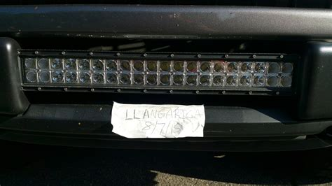 tough light led bar southwest 20 quot tough light led light bar ford f150 forum