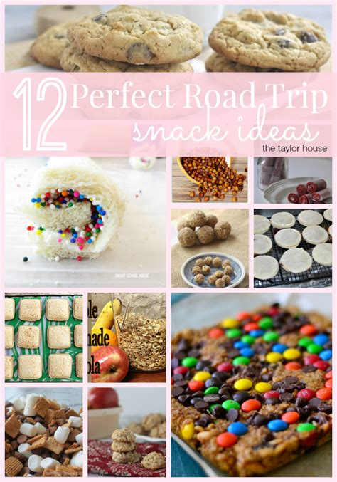 Cabin Food Ideas by 12 Road Trip Snack Ideas The House
