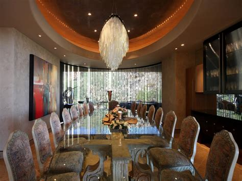 Mansion Dining Room by A Grand Tour Multimillion Dollar Spaces From Hgtv S