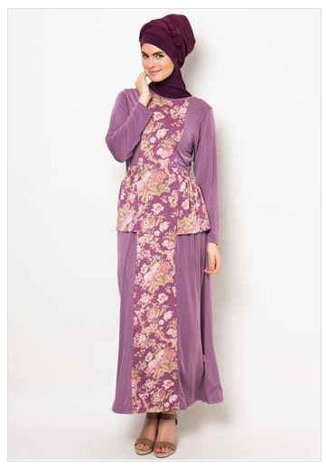 Baju Muslim 028 Motif 6 kumpulan baju muslim jersey motif untuk wanita fashion style