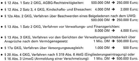 gkg tabelle anwaltshonorar 2002 wie geb 252 hren und kosten auf