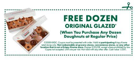 the dozen coupon code image gallery krispy kreme doughnuts coupons