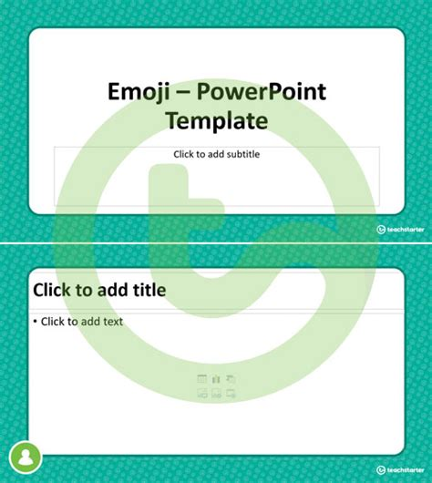 Emoji Powerpoint Template Teaching Resource Teach Starter Emoji Powerpoint Template