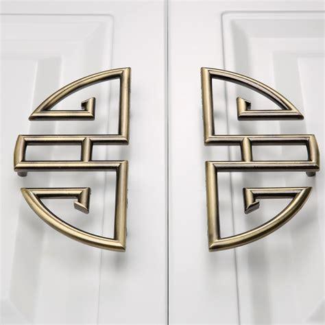2pcs furniture knob drawer door closet cabinet knobs and handles wardrobe closet handle pull