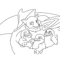 stellaluna family 187 coloring pages 187 surfnetkids