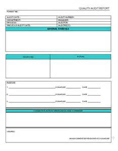 Sample Quality Report 37 Brilliant Audit Report Format Examples Thogati