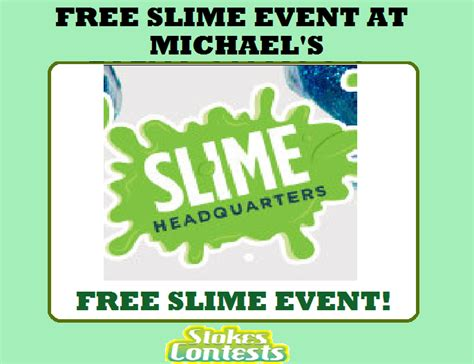 Free Slime Giveaway - stokesontests com enter our contests an unlimited times
