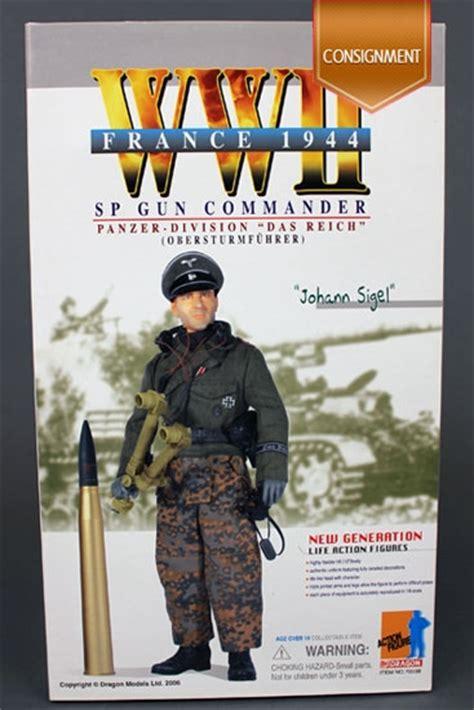 johann sigel wwii sp gun commander 70038 dragon models