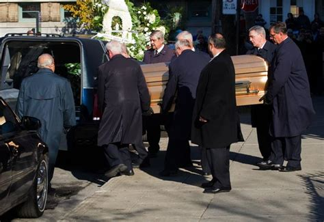 Heads Home For Funeral by Gallery Funeral For Nicolo Rizzuto