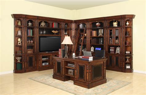 parker house wellington library bookcase wall unit 5 ph parker house leonardo library wall unit bookcase set 4 ph