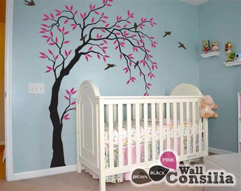 tree decals nursery wall baby room wall decals buy wall decals for