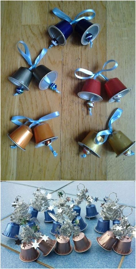 craft decorations 10 creative nespresso coffee pod craft ideas