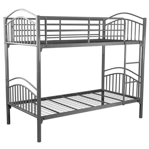 lits superposables lits superposables enfant gris 90 x 190 cm achat