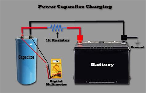 install with capacitor power capacitor