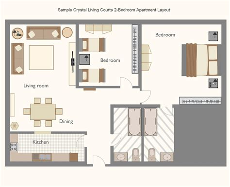 Bedroom Layout Planner Apartments Apartment Plan C1 Apartment Bedroom Plans