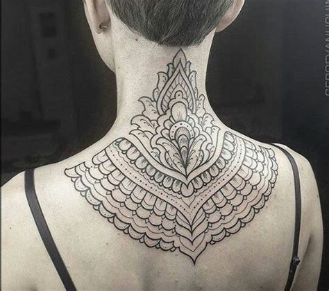 henna tattoo back neck 663 best images about mandala on