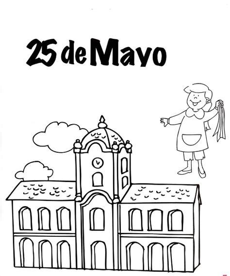 canciones alusiva al 25 de mayo im 225 genes del 25 de mayo para ni 241 os para pintar colorear e