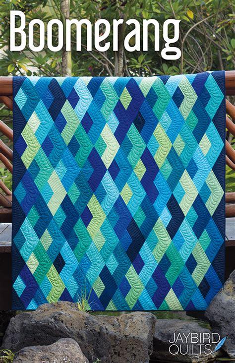 jaybird quilts sewing pattern boomerang