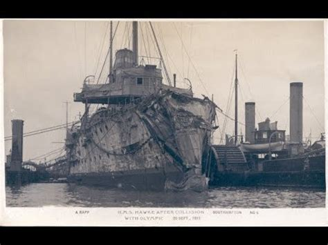 Did Olympic Sink by Rms Olympic Hms Hawke Collsion And Its Lasting Impact