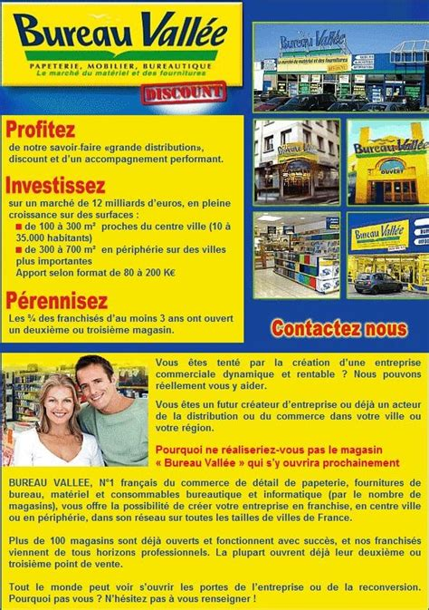 bureau vall馥s bureau vallee la franchise de matriels et fournitures de