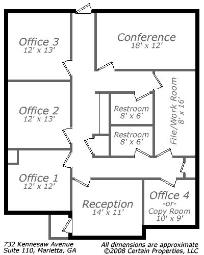 small doctor office floor plans quotes house plans 52753 small office floor plan call 678 318 1970 for more