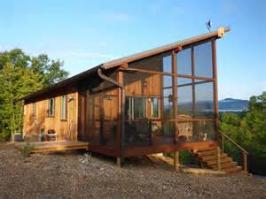 Tiny Houses Nc Couple Build 704 Sq Ft Cabin That Fits Like A Glove