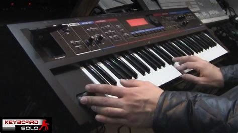 Keyboard Roland Juno Bekas roland juno di performed by s4k tv space4keys