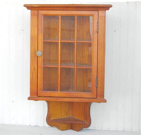 wall curio display cabinet wooden wall hanging corner cabinet curio display
