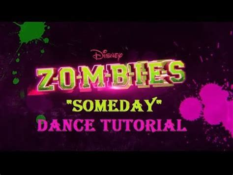 tutorial dance zombie someday dance tutorial partner dance zombies disney